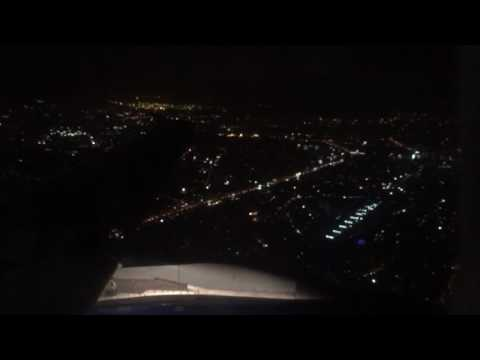 IndiGo Airlines Night Takeoff from BOM VT-IDT 6E565