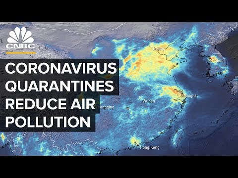 How Coronavirus Quarantines Lead To A Drop In Air Pollution