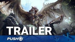 Monster hunter: world ps4 gameplay trailer   playstation 4   tgs 2017