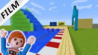 #1 JULIAN BAUT AQUAPARK IN MINECRAFT! WASSERPARK MIT RUTSCHE - Playmobil Film Deutsch Familie Vogel