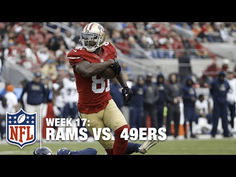 49ers Anquan Boldin Fights Off a Defender & Walks in for the TD | Rams vs. 49ers | NFL