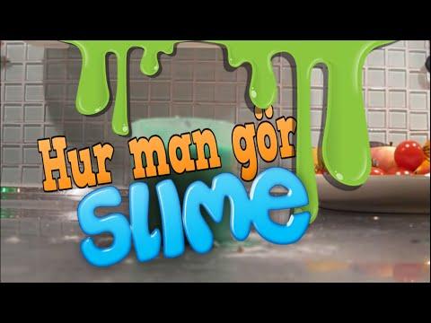 hur gör man slime