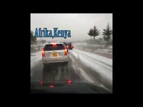 Shocking - Unexpected snow in Africa
