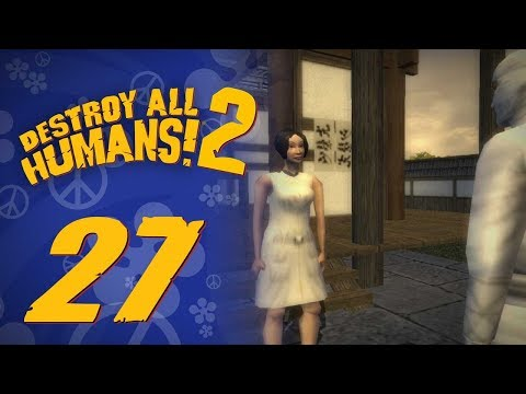 Let's Replay Destroy All Humans! 2 (PS4) - Episode 27 - Code Cracking