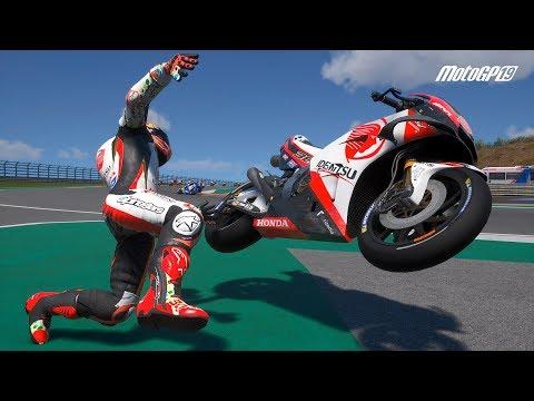 MotoGP 19 - Crash Compilation (PC HD) [1080p60FPS]