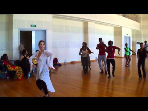 Masterclass Flamenco au Grand Théâtre National de Dakar