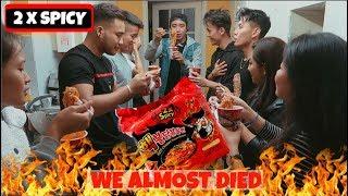 Baixar 2 × SPICY NOODLE CHALLENGE | Sega Gurung