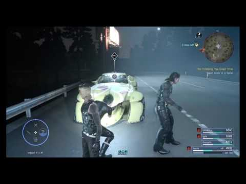 Final fantasy 15 - The hunt.No stopping the great stink