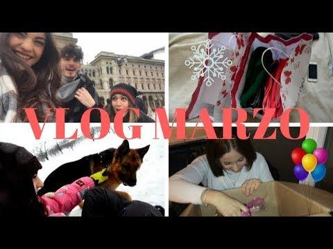 SUPER MEGA HAUL, CAMERA NUOVA E WEEKEND DELLA MODA A MILANO | VLOG MARZO 2018