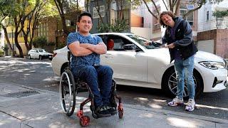 ¿Cómo conduce un auto alguien en silla de ruedas? 🦽 🚙