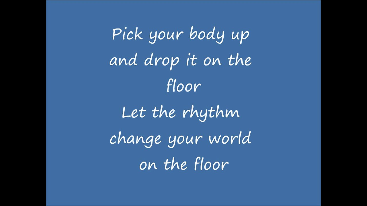 On The Floor Jennifer Lopez (lyrics)