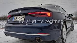 Audi A5 G-tron with Biogas, Test drive