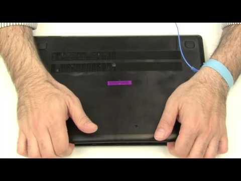 Lenovo ideapad 100 14IBY Como remover carcasa inferior. (Lower Case Removal)