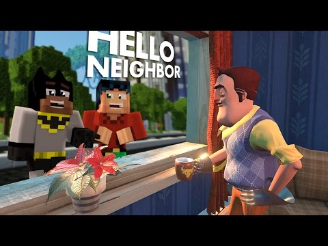 Minecraft Hello Neighbor -Alpha 4 house new location  (minecraft Roleplay)
