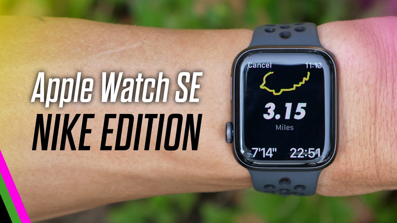 Download Apple Watch SE Nike Edition // First Run + First Impressions!