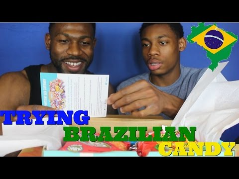 JAMAICANS TRYING BRAZILIAN SNACKS FOR THE FIRST TIME !