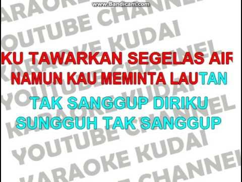 Kristina - Jatuh Bangun Karaoke Dangdut Lirik  ( Karaoke Kudai )