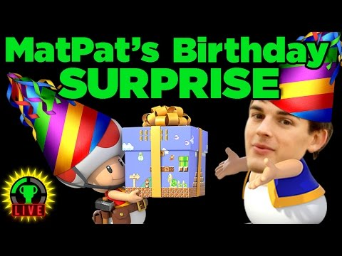 MatPat's Mario Party Birthday Showdown! - FT Super Beard Bros