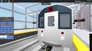 Roblox MTA Rare: R110A 6 Exp Train