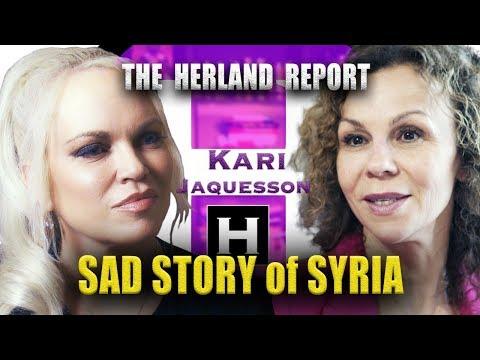 USA, Saudi and terrorism in Syria - Kari Jaquesson, Herland Report TV (HTV)