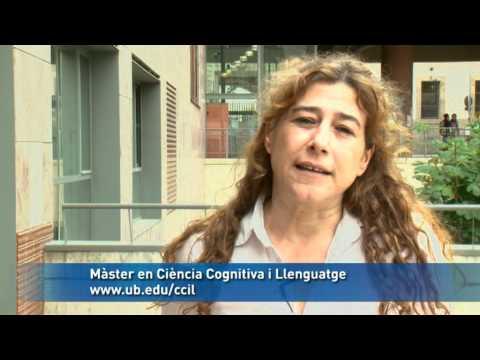 Màster en ciència cognitiva i llenguatge. Universitat de Barcelona