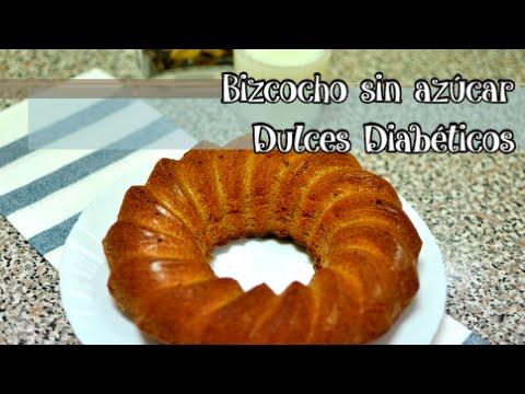 recetas de dulces sin azucar para diabeticos