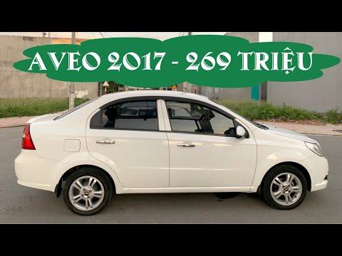 Bán xe Chevrolet Aveo 2017 giá rẻ 269 triệu   Bốn Bánh TV