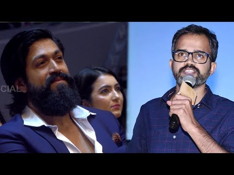 KGF Director Prashanth Neel Gets The Honour At South Indian Award Show