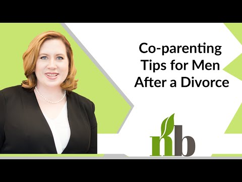 Co-parenting Tips for Men After a Divorce | Family Law Attorney Amber James | Divorce Lawyers
