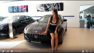 АВИЛОН представляет обзор Maserati Quattroporte. Спортивный лимузин.