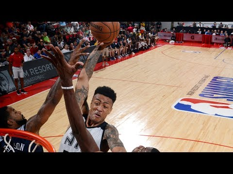 Top 10 Dunks From The NBA Las Vegas Summer League (VIDEO)