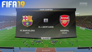 Check out this brand new fifa 19 gameplay of the trofeu joan gamper by beatdown gaming on ps4. in match fc barcelona take arsenal at el libertador! ►...