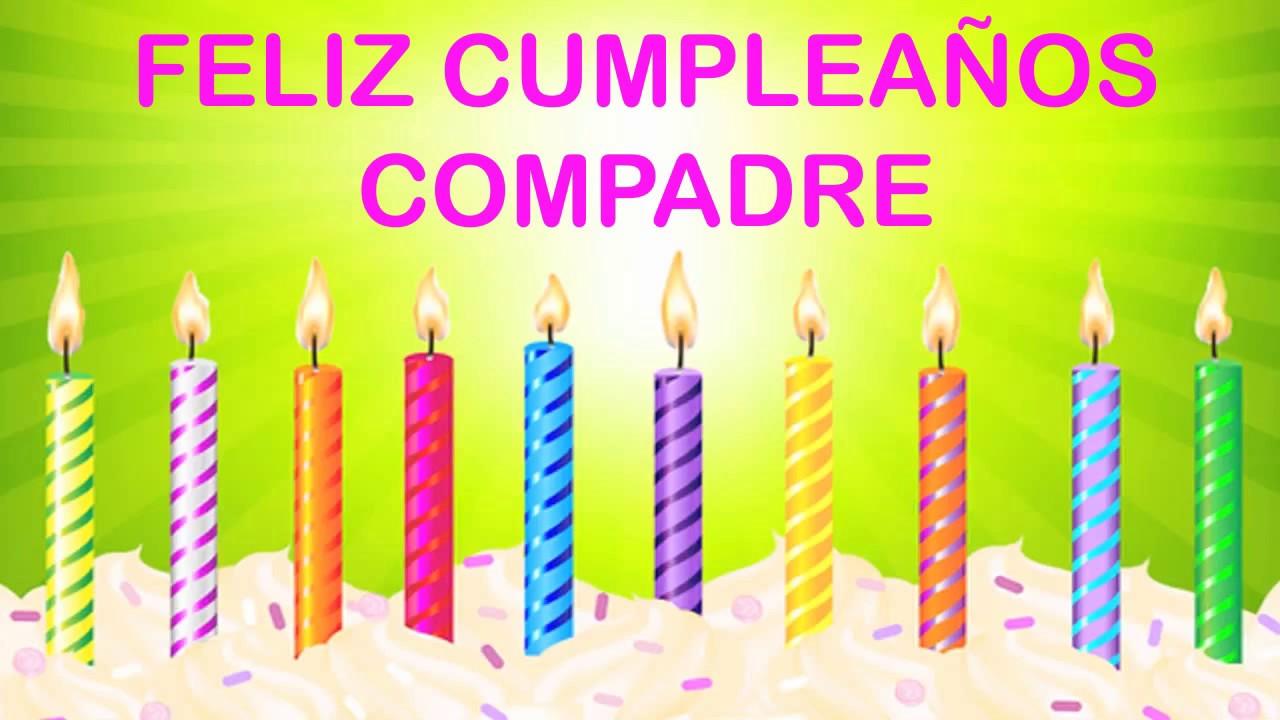 Compadre Wishes Mensajes Happy Birthday Youtube
