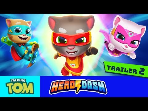 🦸 JOIN THE TEAM!⚡ Heroes Wanted for Talking Tom Hero Dash (Official Trailer 2)