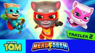 🦸 JOIN THE TEAM!⚡ Heroes Wanted for Talking Tom Hero Dash (Official Trailer 2) thumbnail