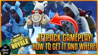 FORTNITE: JETPACK GAMEPLAY, HOW TO GET IT AND WHERE YOU CAN FIND IT!