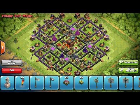 Clash Of Clans BEST Epic New Th10 TrophyClan War Base