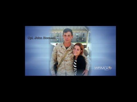 Marine Corporal John Hootsell
