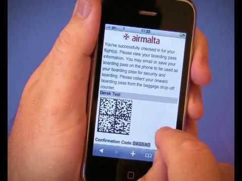 Air Malta Mobile Check-In
