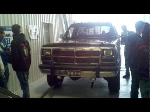 1st gen cummins dyno 450hp 1008 ft lbs