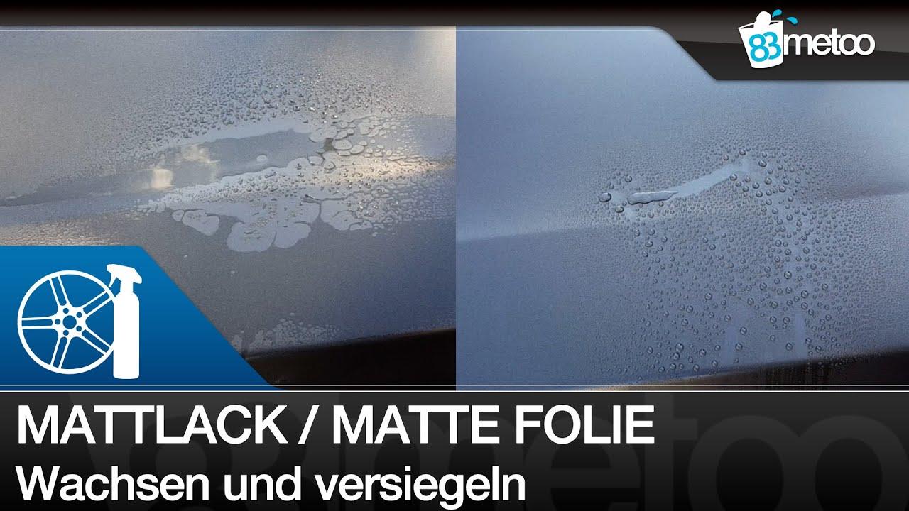 mattlack oder matte folie wachsen und versiegeln matt foliertes auto wachsen mattlackpflege. Black Bedroom Furniture Sets. Home Design Ideas