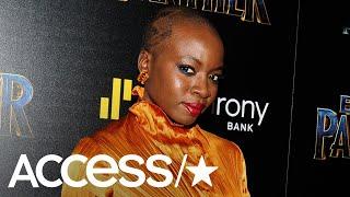 'Black Panther': Danai Gurira & Lupita Nyong'o React To Okoye's Viral Wig Fight | Access