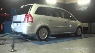 Opel Zafira 1.7 cdti 110cv Reprogrammation Moteur @ 156cv Digiservices Paris 77 Dyno