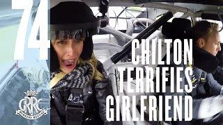 f1 star terrifies girlfriend in 800bhp nascar donuts
