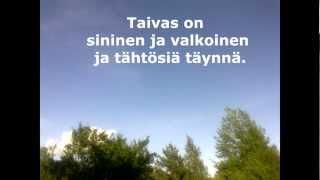 Taivas on sininen ja valkoinen (Finnish Folk Song)