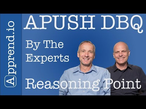 APUSH DBQ Rubric Breakdown Point-by-Point (w/Example) [2018]