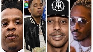 Pooh Shiesty warns people playing him on video, Future Work ethic, Gille da kid says Jay Z bars weak