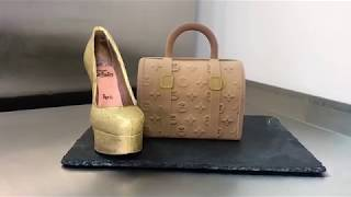 Шоколадная сумка Louis Vuitton