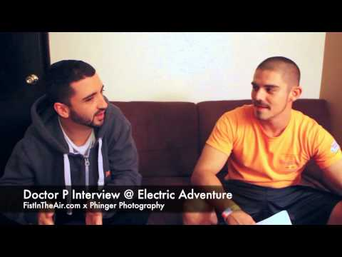 Doctor P Interview @ Electric Adventure 2014