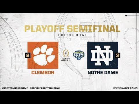 goodyear-cotton-bowl-#3-notre-dame-fighting-irish-vs.-#2-clemson-tigers-simulation